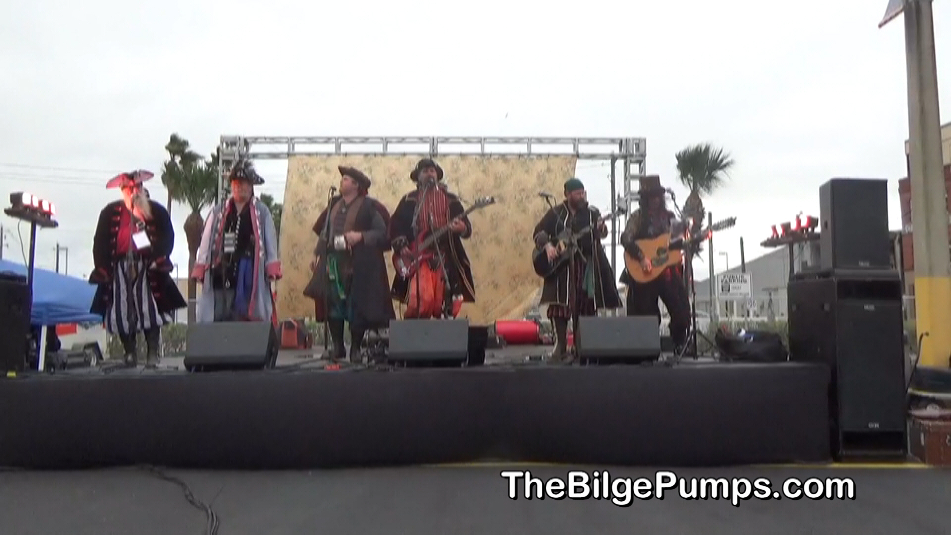 The Bilge Pumps - a Pirate Music Group for Your Inner Buccaneer